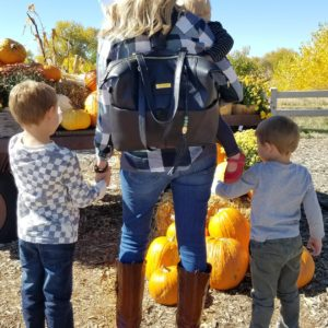 """Lily Jade """"Shaylee"""" Diaper Bag with 3 Kids"""
